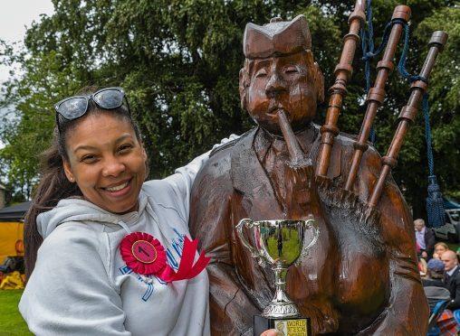 Christine De Agostini was last year's world tattie scone champion