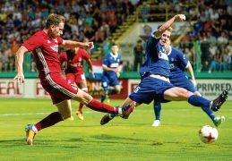Dons midfielder Stewart seeks redemption
