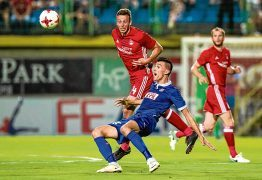 Dons face all-British tie in Europa League