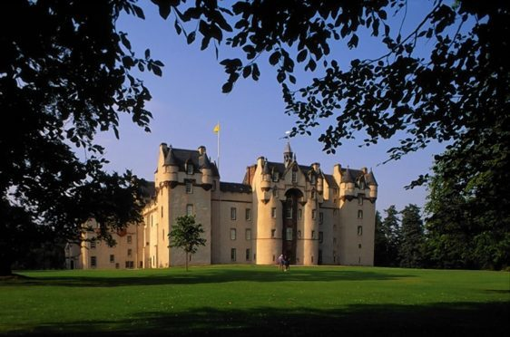 Fyvie Castle is now included in the Rover Pass scheme.