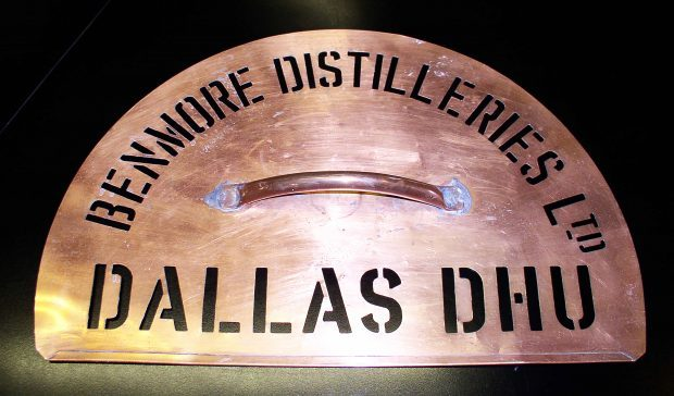 The Dallas Dhu stencil is believed to date from the 1920s.
