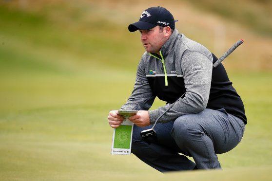 Grantown golfer Duncan Stewart.