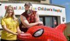 The Granite City Beard and Moustache festival will help to raise cash for The ARCHIE Foundation. Pictured from left to right: Claire Bush, fundraiser at ARCHIE, and Scot Thompson, organiser of the festival