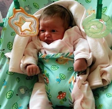 Mikayla Haining was just three weeks old when she died.