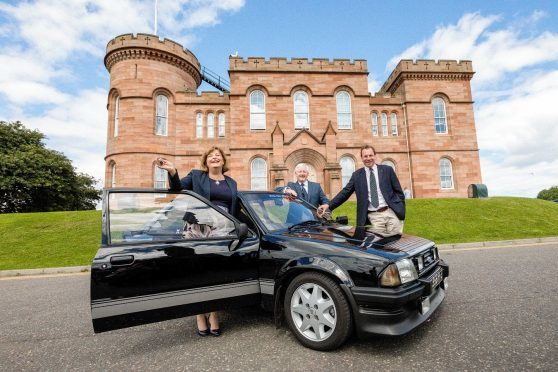 Fiona Hyslop MSP, Tom Campbell  (North Coast 500 Ltd), and David Whiteford OBE, (North Highland Initiative)  Image by: Malcolm McCurrach
