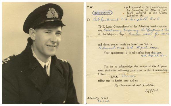 Lt. Donald C Campbell