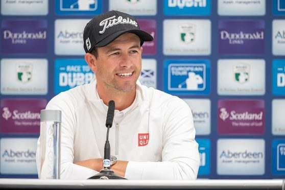 Harrington leads Scottish Open