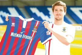Done deal: Caley Jags get Charlie Trafford