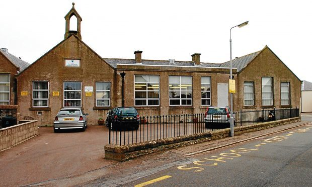Portgordon Primary school.