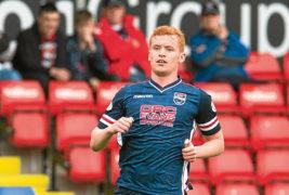 Ross County forward Greg Morrison is on loan at Elgin City.
