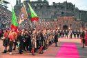 Lonach highlanders at Royal Edinburgh Military Tattoo