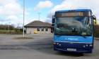 There has been a decline in passengers using the Ellon park and ride.