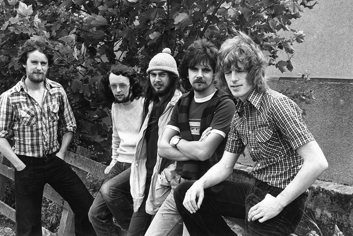 Gaelic group Runrig, from left, Calum Macdonald, Blair Douglas, Malcolm Jones, Donnie Munro and Rory Macdonald, as they were in July 1978