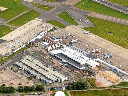 The developers plan to build hundreds of council homes near Aberdeen International Airport.