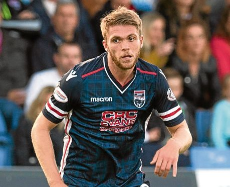 Ross County defender Marcus Fraser.