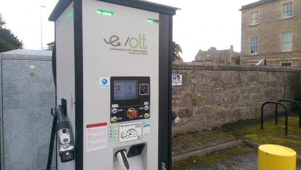 Charging points in Moray are the least used across the north and north-east.