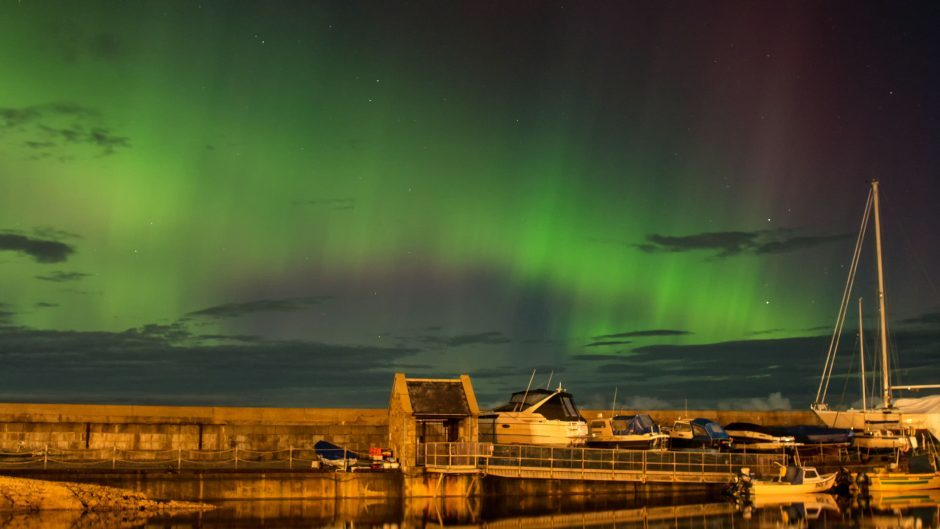 Lossiemouth Harbour by Karen Muir
