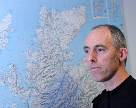 Chief Superintendent George Macdonald, area commander for Police Scotland in the Highlands and Islands. Picture by Sandy McCook