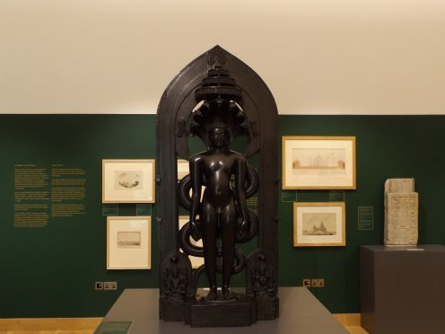 Parsvanatha Sculpture- on loan from the British Museum