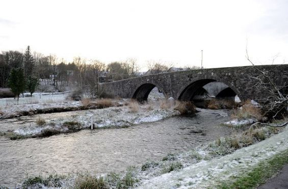 Old Ellon Bridge is on the new historic bridges trail