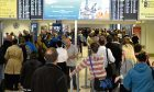 Storm Caroline causes long delays for Aberdeen air