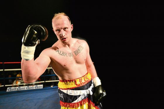 Inverness boxer Gary Cornish
