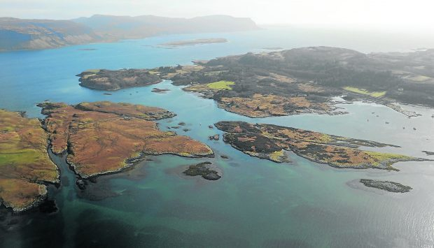 The little island passed out of private ownership and into the hands of the local community
