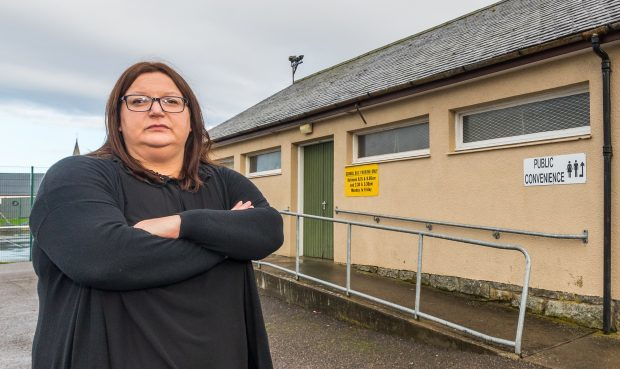 """Councillor Shona Morrison condemned the vandalism as """"mindless""""."""