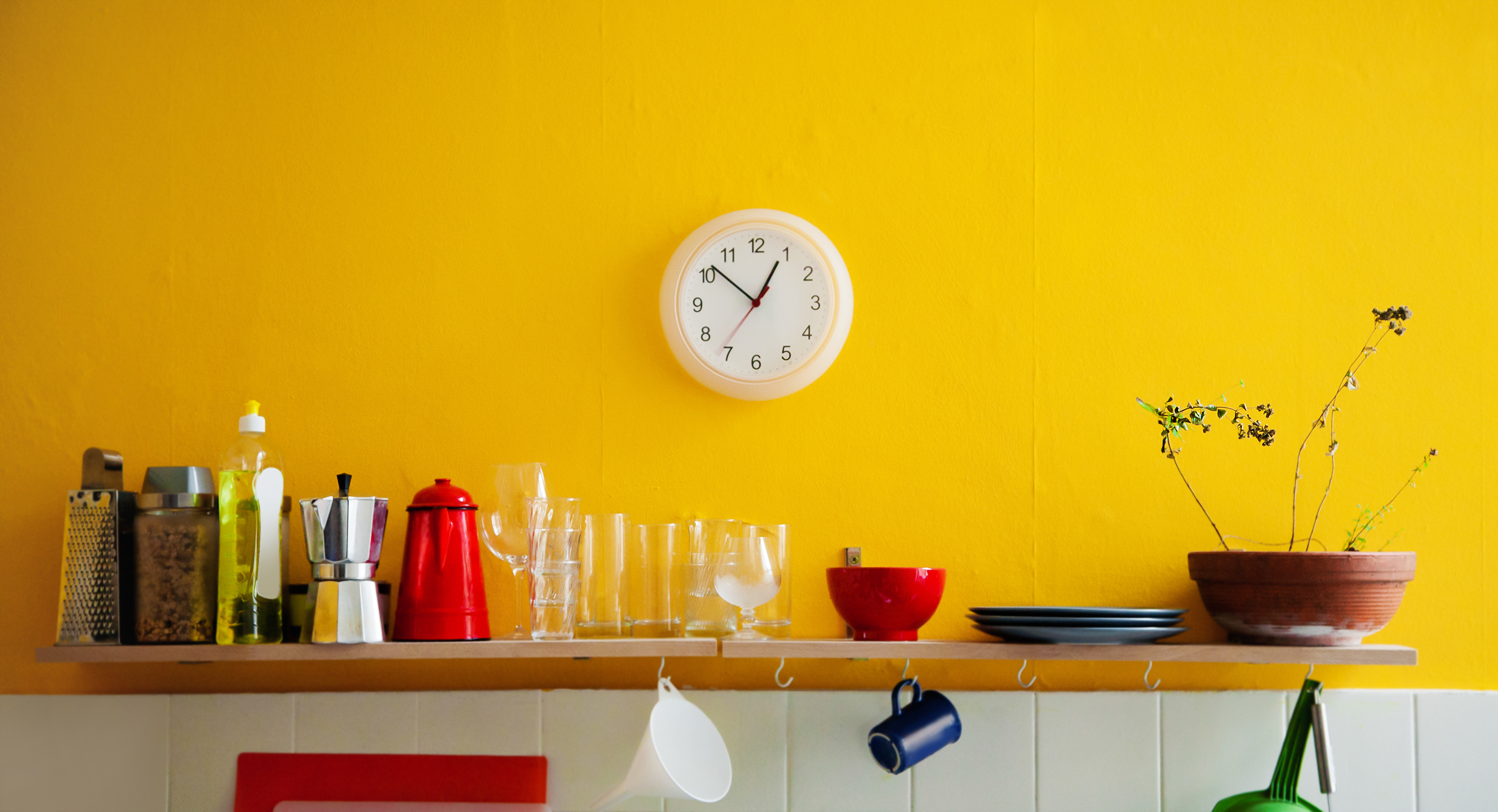 How To Green Your Home the psychology of colour: setting the right mood in your home