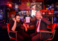 Pictured are from left, Jamie Peter (Black Cat CIC), Craig Adams and Lewis Macdonald MSP, at the live music venue Krakatoa, Trinity Quay, Aberdeen.