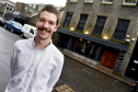 Nick Gordon, manager of Orchid, says cafe culture could boost the city's standing