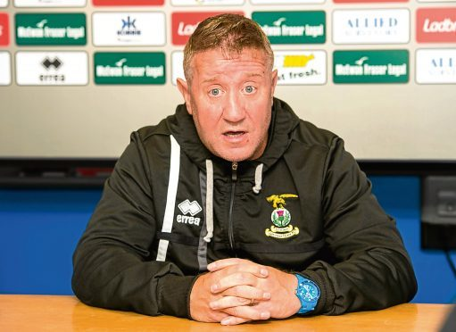 Caley Thistle boss John Robertson