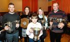 Pictured - Barry Paterson, Louise Fotheringham, Sandi Airth, Louise Airth, Gerald Smith Pictures by Kami Thomson