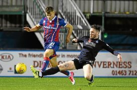 Caley Thistle's Cooper in it for long run