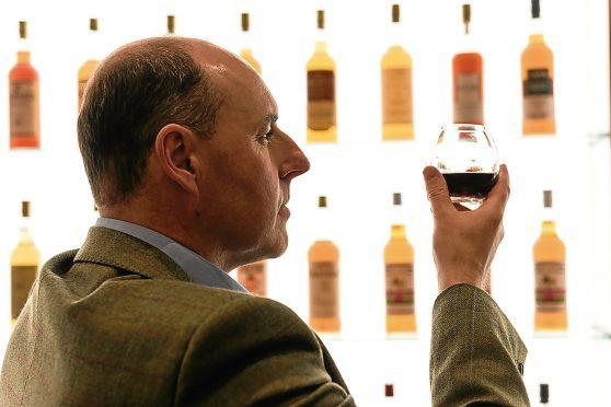 Stephen Rankin, the new director of prestige at Gordon & MacPhail