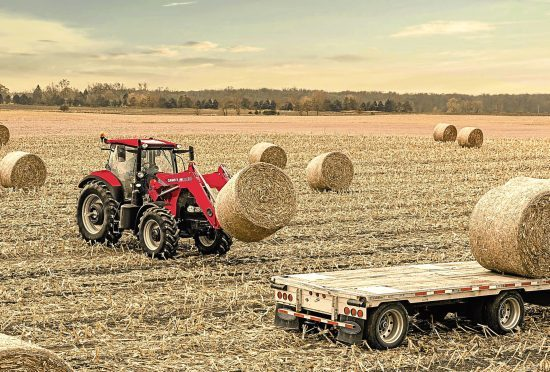 Tractor sales increased in June.