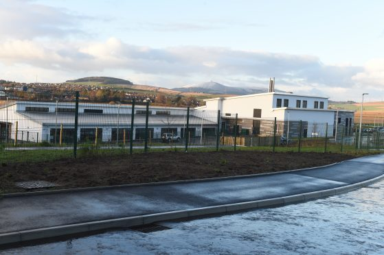 Uryside Primary School in Inverurie opened in October 2017.