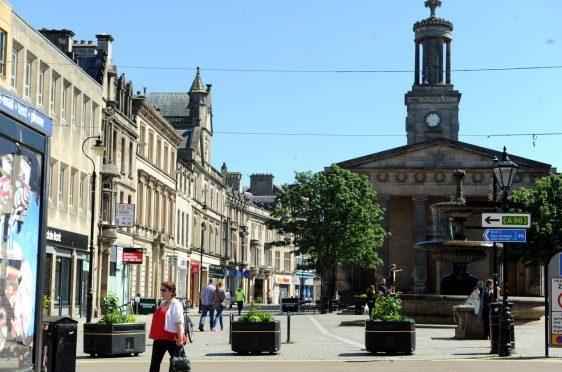 Elgin town centre