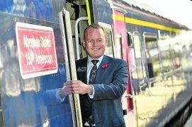 Scotrail managing director Alex Hynes.