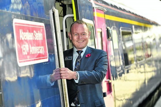 Scotrail managing director Alex Hynes  Picture by Kenny Elrick
