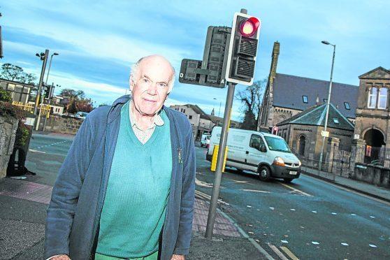 Nairn councillor, Richard Youngson