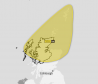 A yellow weather warning ha been issued.
