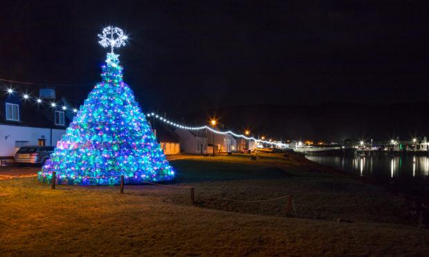 The stunning display in Ullapool