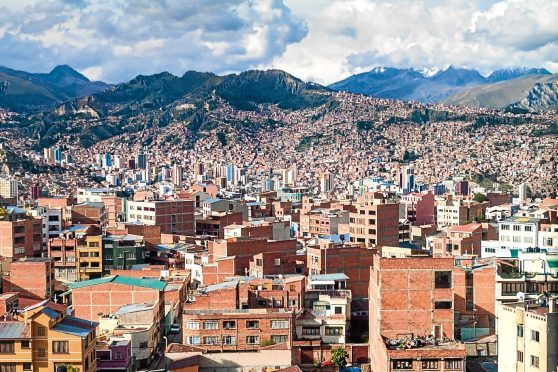 La Paz, Bolivia.
