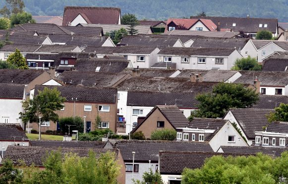 New houses could be built on the former haulage yard in Aberchirder.
