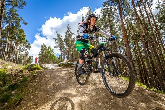 The Crown Estate wants to boost business at a mountain biking centre in Moray