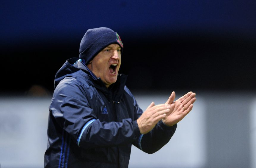 Cove manager John Sheran praised his players.