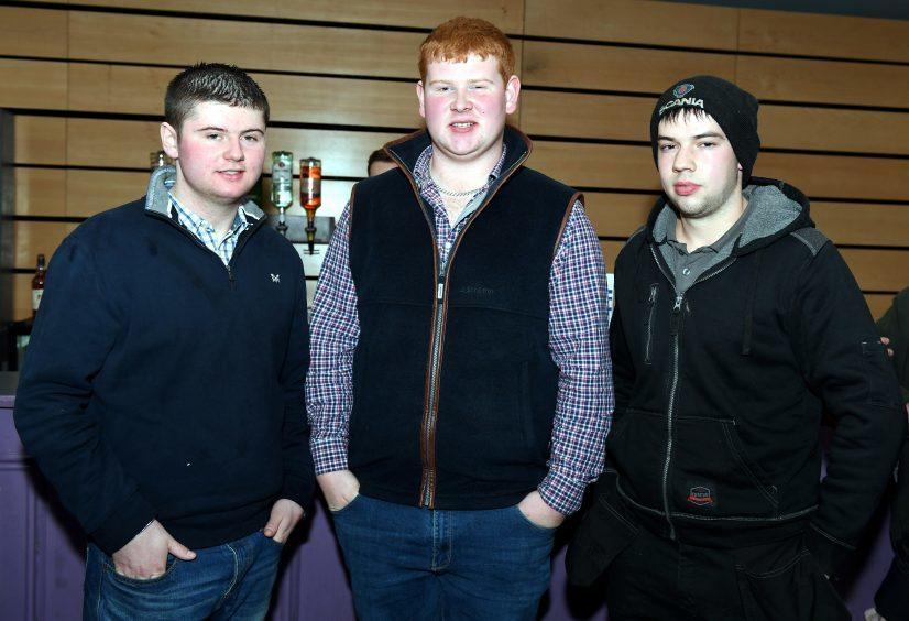 Bruce Fraser, Andrew Beattie, Ewan Will.
