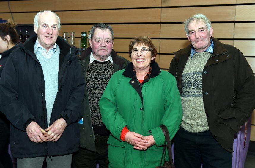 Keith Hourston, Stewart Davidson, Belinda Muir, Jim Muir.