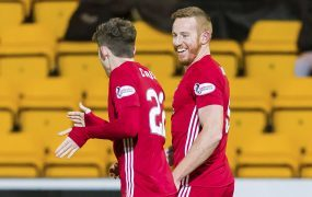 Adam Rooney and Kenny McLean hit doubles as Aberdeen see off Ross County